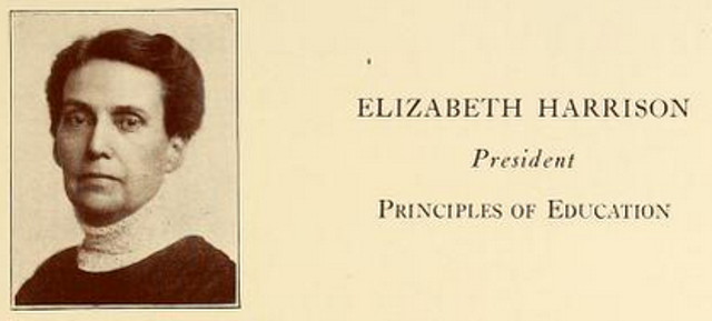 Elizabeth Harrison's Writings