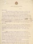Recruitment Letter Draft of the Chicago Kindergarten College