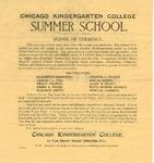 Chicago Kindergarten College Summer School