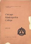 Chicago Kindergarten College, 1893-94