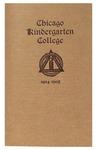 Chicago Kindergarten College, 1904-05 by Chicago Kindergarten College