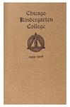 Chicago Kindergarten College, 1905-06 by Chicago Kindergarten College