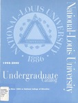 National-Louis University Undergraduate Catalog, 1998-2000