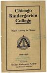 Chicago Kindergarten College catalog, 1909-10 by Chicago Kindergarten College