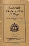 National Kindergarten College catalog, 1912-13 by National Kindergarten College