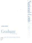 National-Louis University Graduate Catalog, 1996-98