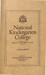 National Kindergarten College Catalog, 1916-1917 by National Kindergarten College