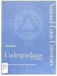 National-Louis University Undergraduate Catalog, 1994-96 by National-Louis University