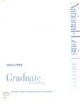 National-Louis University Graduate Catalog, 1994-96 by National-Louis University