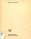 National-Louis University Graduate Catalog, 1992-94 by National-Louis University