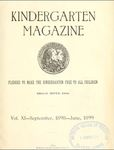 Kindergarten Magazine, Vol. XI