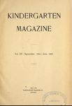 Kindergarten Magazine, Vol. XV by Kindergarten Magazine