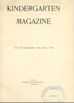 Kindergarten Magazine, Vol. XVI