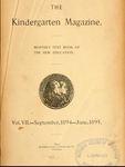 Kindergarten Magazine, Vol. VII