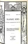 Alumnae News, v1n1